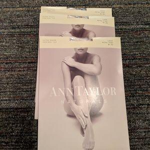 Bundle of Ann Taylor pantyhose 3 pr